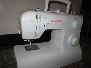 This is a basic sewing machine that can be used by any beginner learning to sew - Sew Me Your Stuff