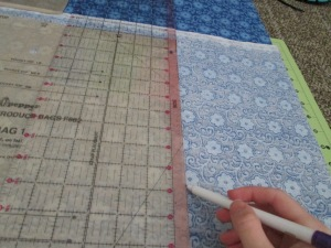 Learning how to use a sewing pattern to make a craft is important for beginners learning to sew - Sew Me Your Stuff