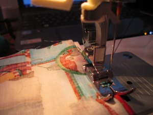 Knowing what basic sewing machine stitches to use is important for any beginner learning to sew - Sew Me Your Stuff