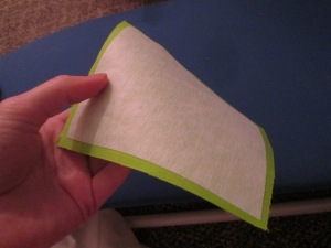 Attaching fusible interfacing properly is important for a beginner learning to sew with sewing notions - Sew Me Your Stuff